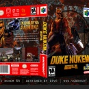 Duke Nukem 64 Box Art Cover