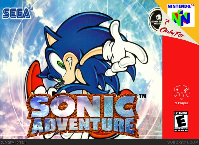Super Sonic Galaxy Nintendo 64 Box Art Cover by Notsohandyman