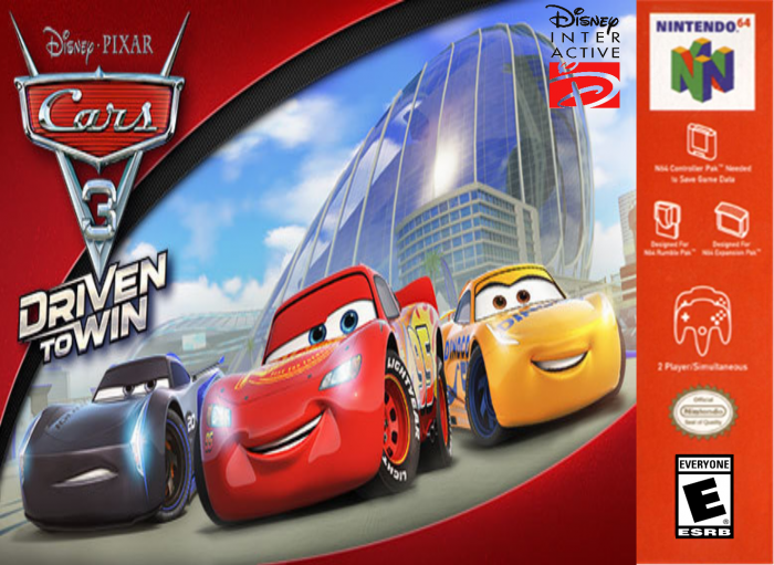 Cars 3: Driven to Win box art cover