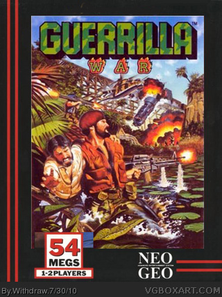 Guerilla War box cover
