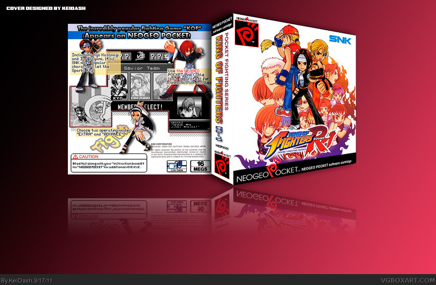 NGP - The King of Fighters R-1 box cover