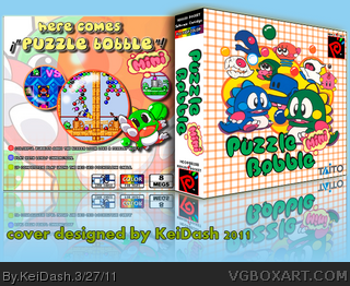 NGPC - Puzzle Bobble mini box cover
