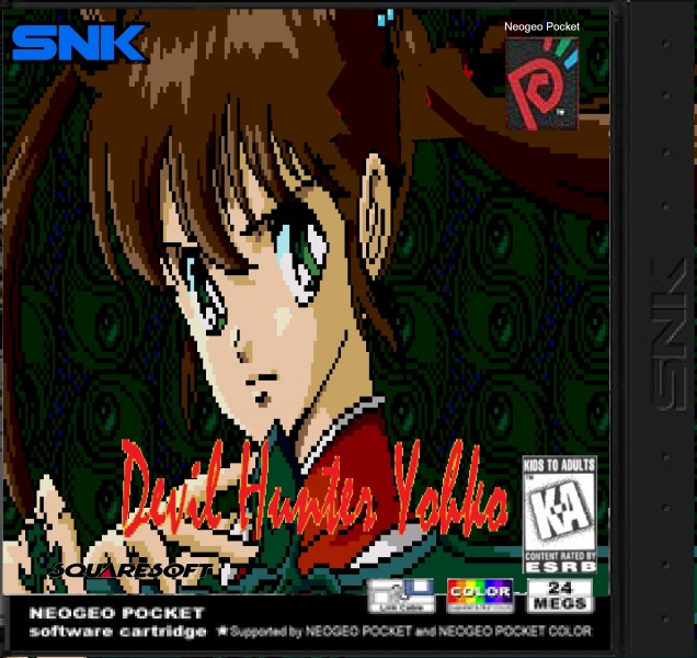 Devil Hunter Yohko box art cover