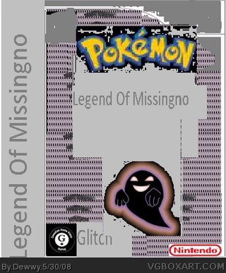 Legend Of  Missingno box cover