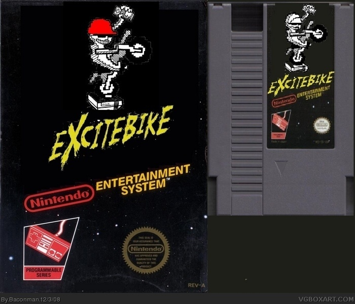Excite Bike box art cover