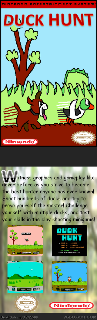 Duck Hunt box cover