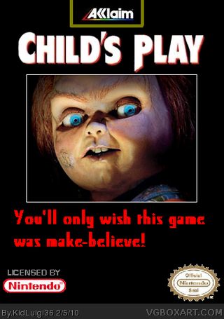Child's Play box cover