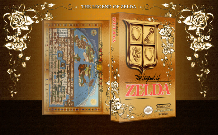 The Legend of Zelda box art cover