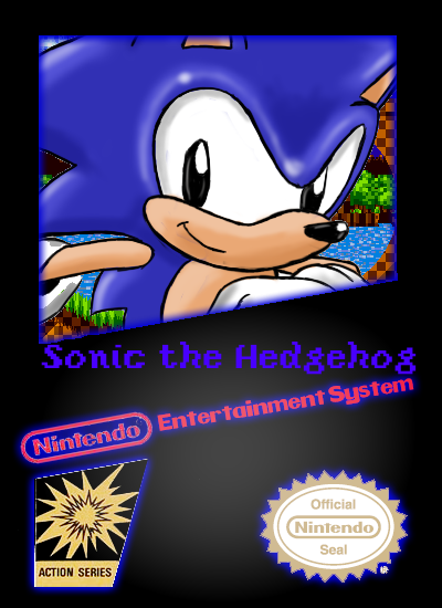 Sonic The Hedgehog box cover