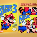 Super Mario Bros 3. Restoration HD Box Art Cover