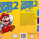 Super Mario Bros 2 Box Art Cover