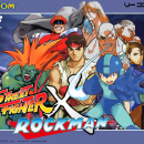 Rockman X Street Fighter Box Art Cover