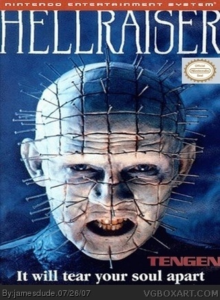 Hellraiser box art cover