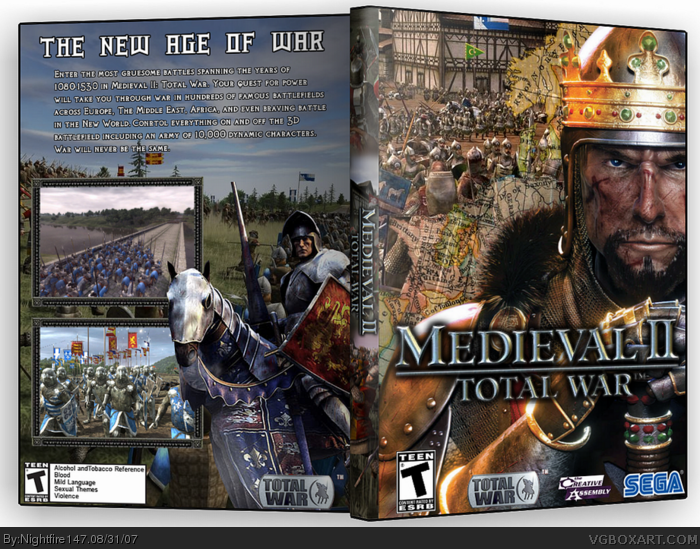 MediEval 2 Total War PC Box Art Cover by Nightfire147
