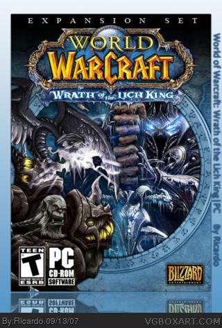 World of Warcraft: Wrath of the Lich King box cover