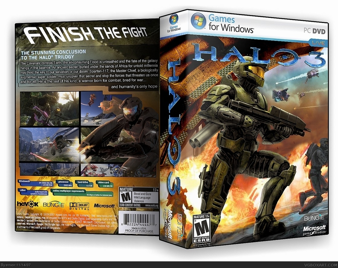colour match up 2 halo 3 pc box art cover by envor - Color Games For 3 Year Olds