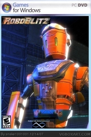 Roboblitz box cover
