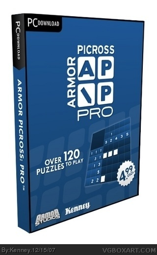 Armor Picross Pro box cover