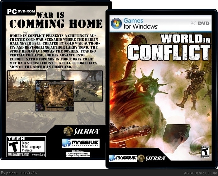 World in Conflict box art cover