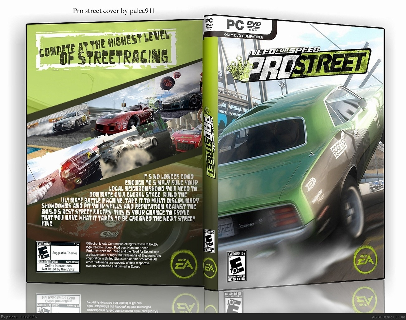 Need for Speed ProStreet box cover