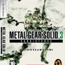Metal Gear Solid 3 Subsistence Box Art Cover