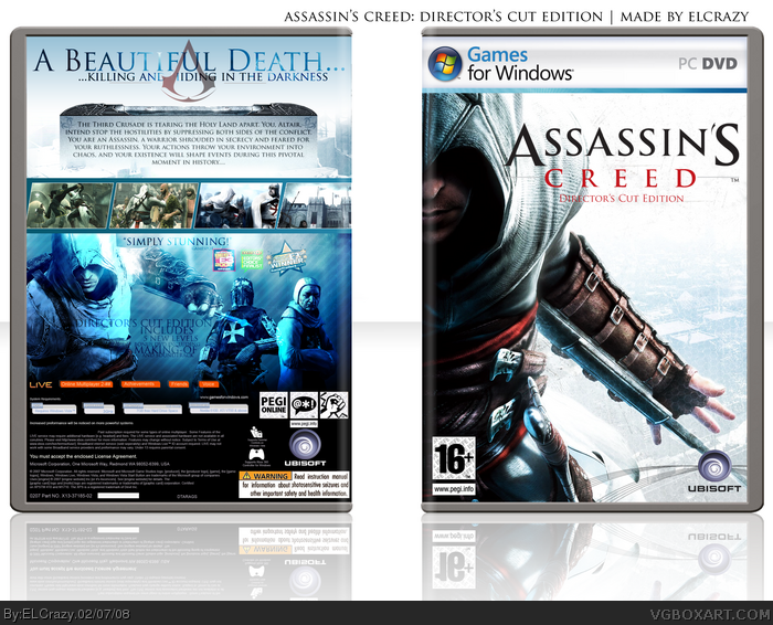 Assassin's Creed: Director's Cut Edition box art cover