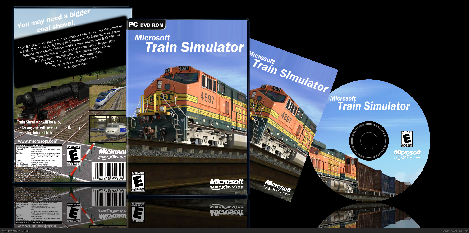 Microsoft train simulator вылетает сценарий