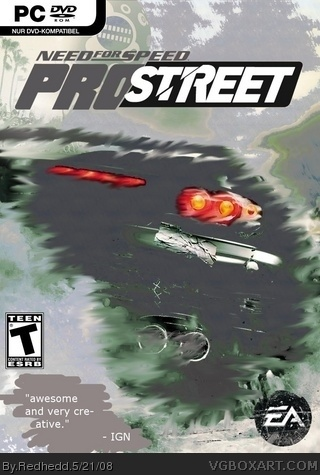 Need for Speed ProStreet box art cover