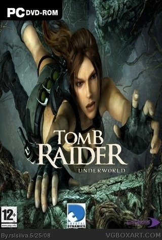 Tomb Raider Underworld box cover