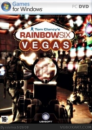 Tom Clancy's Rainbow Six Vegas box cover