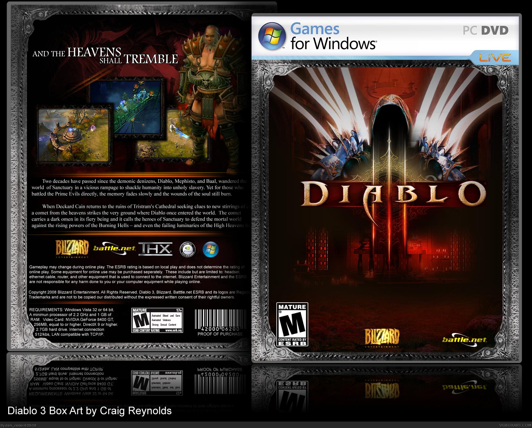 Diablo 3 Cover by mofftarkin on DeviantArt