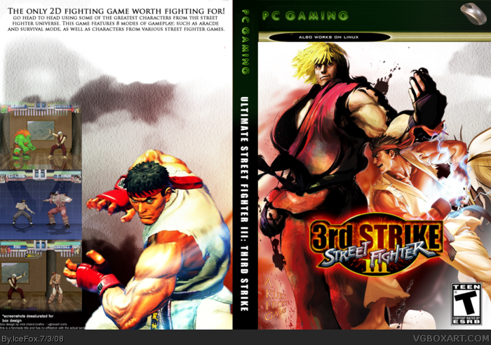 Street Fighter III: Third Strike box art cover