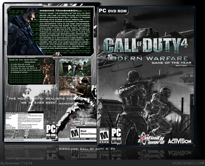 Call of duty 4 pc hacks download