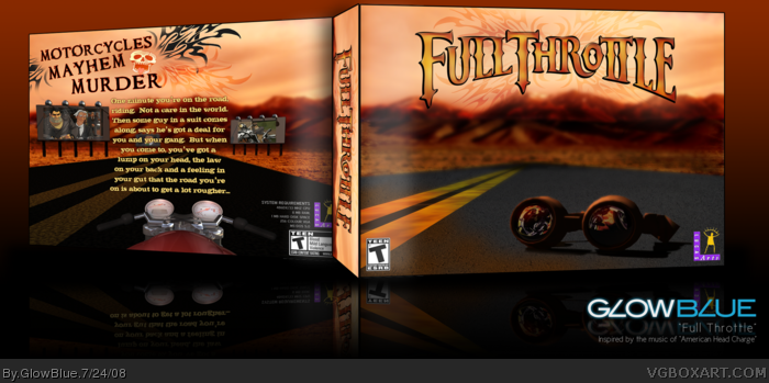 Full Throttle box art cover