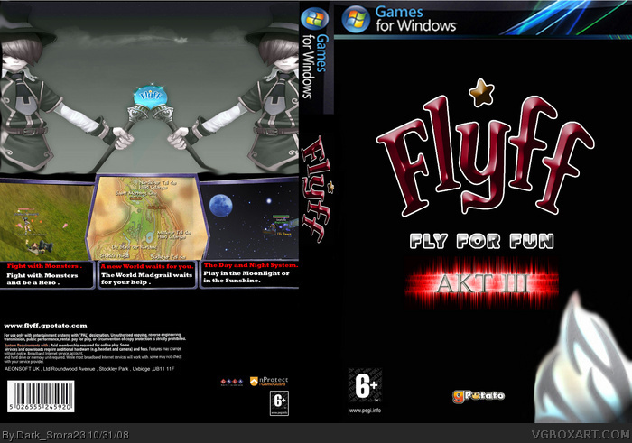 Flyff box art cover
