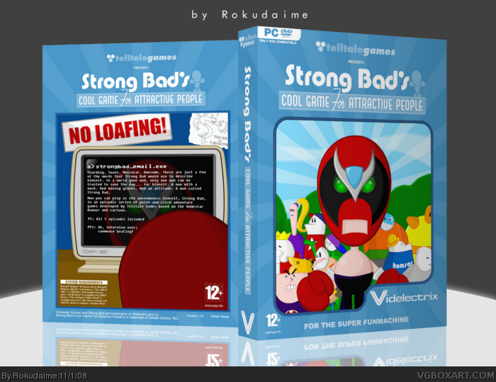Strong Bad's Cool Game for Attractive People box art cover