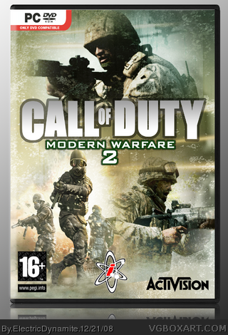 Call of Duty: Modern Warfare 2 box cover