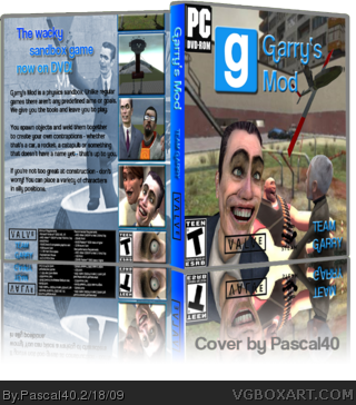 garry s mod pc box art cover by pascal40