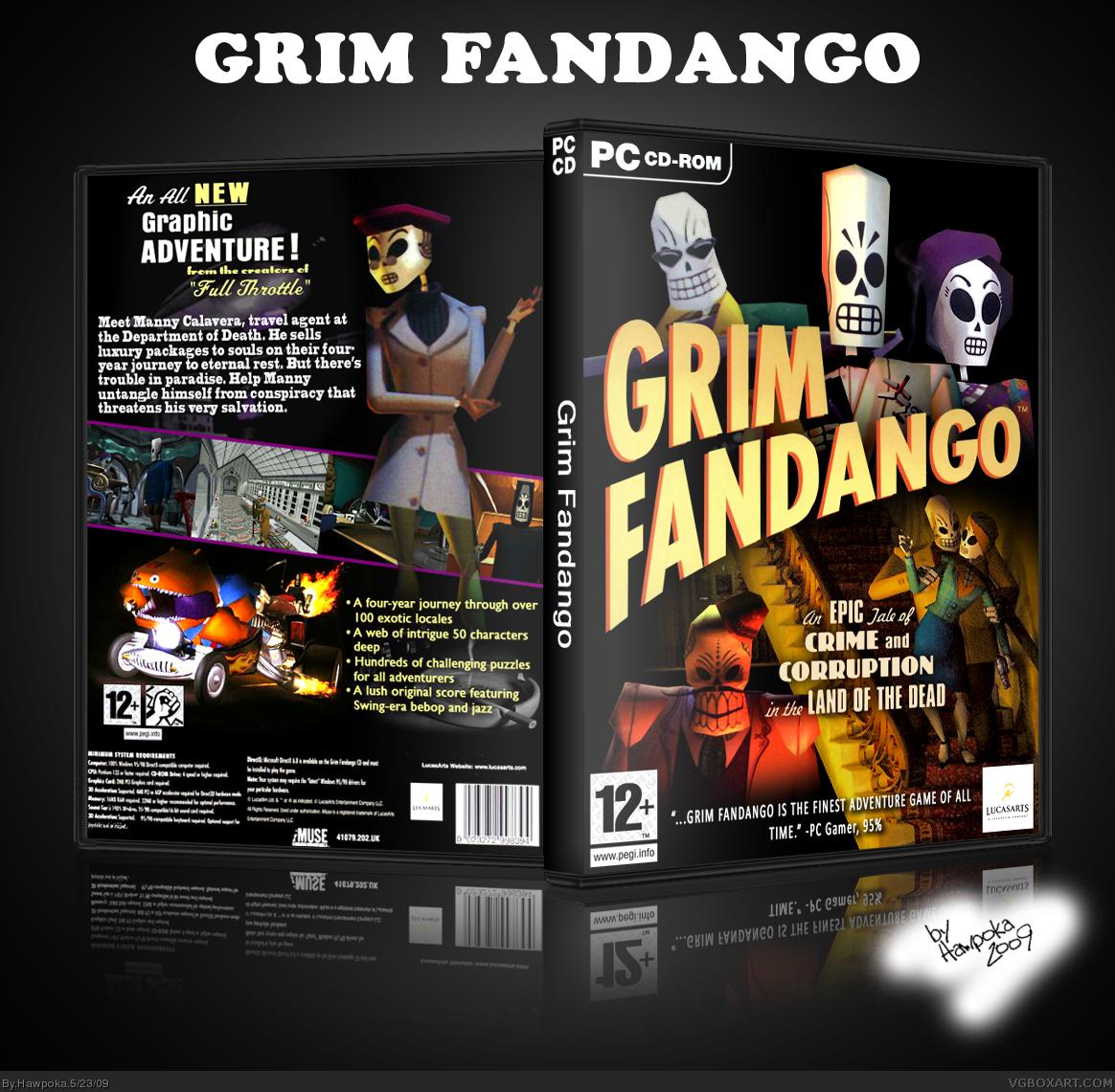Grim Fandango Box Cover Comments