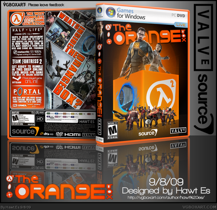 The Orange's Box box art cover
