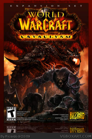 World of Warcraft: Cataclysm box cover