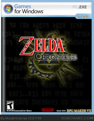 The Legend of Zelda : Chronicles PC Box Art Cover by