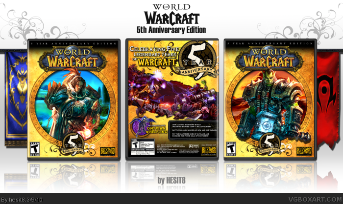 World of Warcraft: 5th Anniversary Edition box art cover