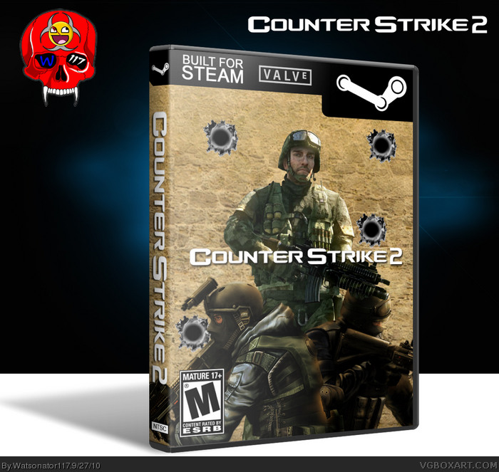 Counter-Strike 2 box art cover