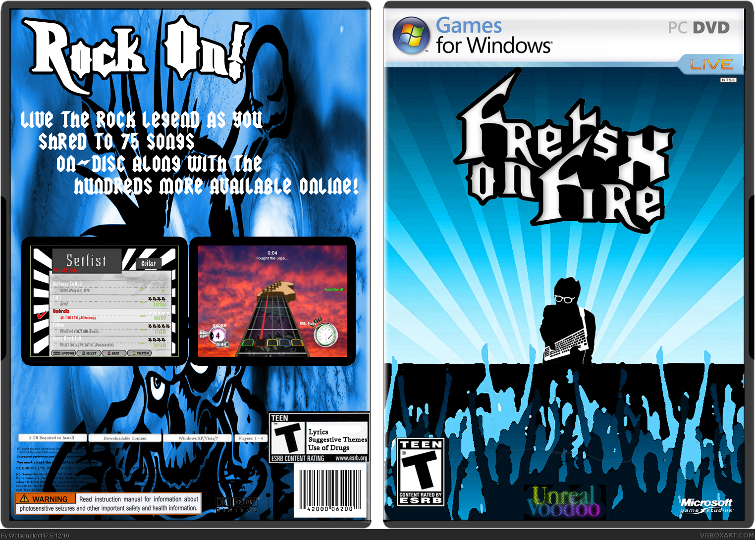 Frets On Fire X box cover