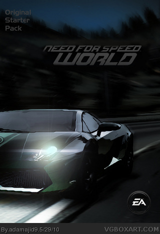 Need for Speed World: Starter Pack box cover