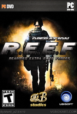 Operation R.E.E.F box cover