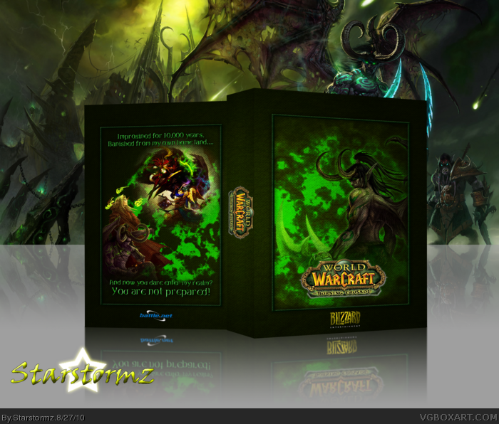 World of Warcraft: The Burning Crusade box art cover