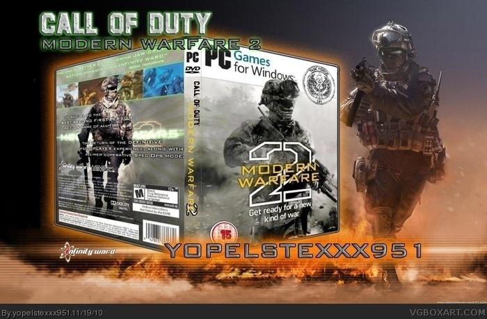 Call of Duty: Modern Warfare 2 PC Box Art Cover by