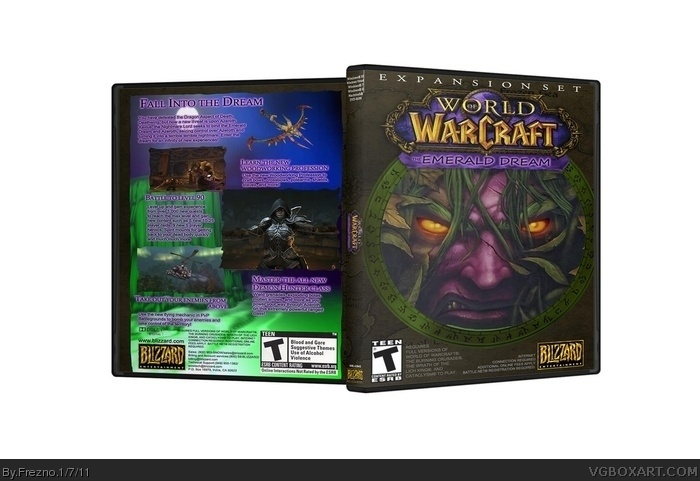 World of Warcraft: The Emerald Dream box art cover